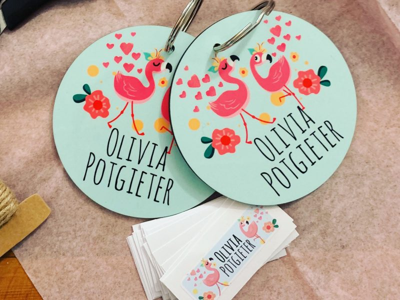 Bagtags & Name Stickers